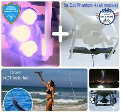 PROFESSIONAL Release Device and Searchlight for Drone Fishing for DJI Phantom 4 $338.00