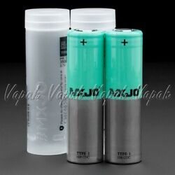 2 MXJO 18650 HIGH DRAIN 3500mAh  20A MAX Flat Top 3.7V Rechargeable Battery