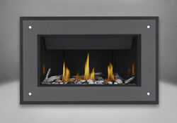 Napoleon BL36NTE Direct Vent Linear Gas Fireplace w Stylo Surround PACKAGE DEAL