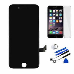 Black LCD Replacement Screen 3D Touch Digitizer Asembly for iPhone 7 4.7  TOOLS $14.88