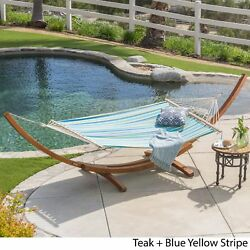 Freestanding Hammock Chair Stand Freestand Hammocks Canvas Straps Pool Patio Kit