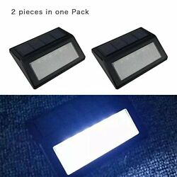 2PACK Solar Powered LED Motion Sensor Outdoor Security Garden Light Flood Yard