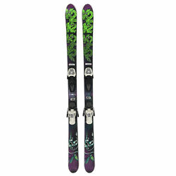 Used K2 Youth Ski and Binding Package with Bag