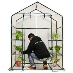Quictent Greenhouse Mini Walk-In 3 tiers 6 shelves 102lbs Max Weight...