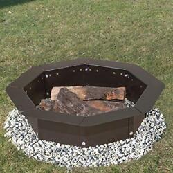 Heavy Duty Bolt-Together Campfire Ring or Fire Pit Insert Model IO-308 Park...