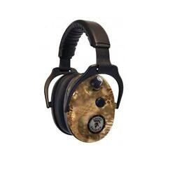 SOUND SOLDIER ENHANCED ELECTRONIC EARMUFFS 27DB PROTECTION KRYPTEK HIGHLANDER