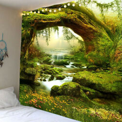 Scenery Tapestry Wall Hanging Landscape Stream Tapestry for Wall Art Home Decor $15.39