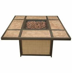 Hanover TRADTILE1PCFP Traditions Tile-Top Fire Pit