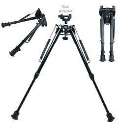 9quot; 13quot; Adjustable Spring Return Hunting Rifle Bipod amp; Picatinny Adapter $23.85