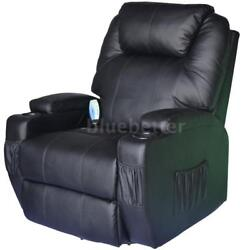 Deluxe Recliner Full Body Shiatsu Massage Lounge Chair ZERO GRAVITY Heat Seat US