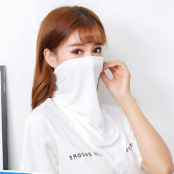 Triangle Sport Scarves Ice Fabric Cycling Headband Face Mask Breathable JHNV3