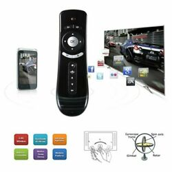 Mini Wireless Remote Control T2 Air Mouse for PC Android Fire Stick Black 3D BE $6.99