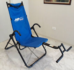Ab Lounge Sport Abdominal Exercise Machine Chair **LOCAL PICKUP ONLY - DFW**