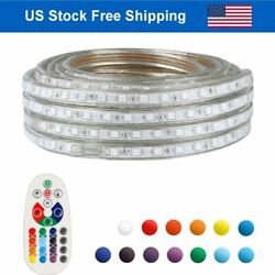 LED Strip Rope Light Waterproof Multi Color Changing Lights Flexible With Remote $38.86