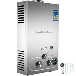 Propane Gas Hot Water Heater 16L On-Demand Tankless Instant Boiler 4.3GPM $105.78
