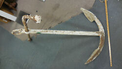 VINTAGE SHIPS ANCHOR VERY OLD AND HEAVY LOCAL PICKUP ONLY—Seafood Resturant $2500.00