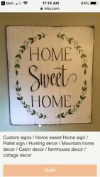rustic signs home signs cabin decor cottage vintage porch signs decor $22.00