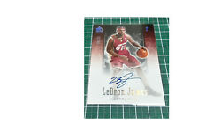 2004-05 UD SP Signature Numbers Auto LeBron James 0623