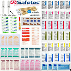 First Aid Refill Kit  Ointments Creams Water Purification  131pcs Wound Care