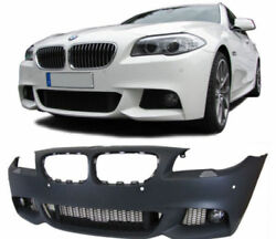 Sport from bumper with grills and fog lights for BMW 5 series F10 F11