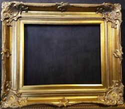 5quot; WIDE Antique Gold Ornate Victoria Baroque Wood Picture Frame 801G $123.00