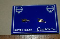 SMALL HELICOPTER LAPEL INSIGNIAS NEW GOLD TONE $7.99