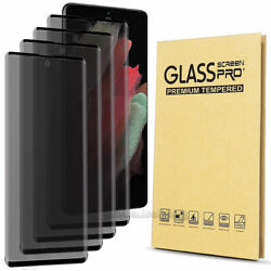 Privacy Screen protector Tempered Glass For Samsung Galaxy S10 S9 Plus Note 10 9