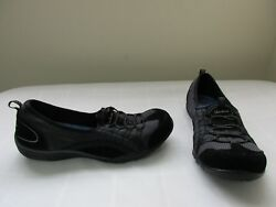New Women's Skechers Relaxed Fit Breathe Easy Quick Wit Casual Shoes Blk pc 63E
