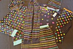 LITTLE MISS MATCHED CRITTER ANIMAL REVERSIBLE JACKET SKIRT TOP HAT LOT - 14 16