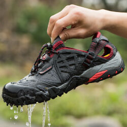 Men#x27;s Outdoor Sneakers Breathable Hiking Shoes Trekking Trail Water Sandals New $56.99