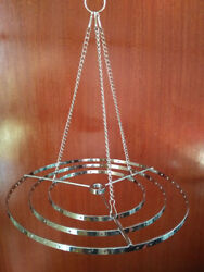 1Pcs Round Hanger Centerpiece Hanging Frame Chandelier Wedding Christmas Party $16.57