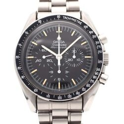 Omega Speedmaster St345.0022 Ss Edge Finish R 2018 January Oh Pre-1990 (94789