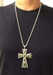 Nicky Butler LImited Edition Raj 593800 Collection Cross Pendant