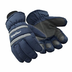 RefrigiWear Fleece Lined Insulated Chillbreaker Gloves with Reflective Strips $27.50