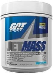 GAT Jet Mass 30 Servings Creatine JETMASS Muscle & Recovery - Choose Flavor