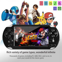 128 Bit 8GB X9 Handheld Game Console Video MP4 MP5 Player Support 10000 game US