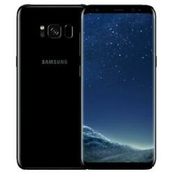 Samsung Galaxy S8 G950U 64GB - Factory Unlocked (Verizon AT&T T-Mobile) Black