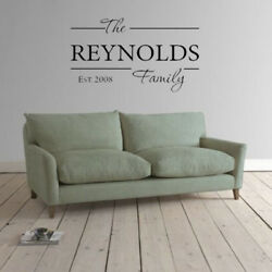 PERSONALIZED Family Established Name Wall art decor vinyl sticker Decal