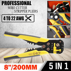 Multifunctional 3in1 Automatic Electric Cable Wire Stripper Cutter Crimper Plier $11.99