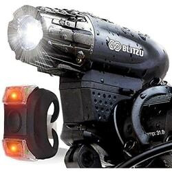 Bicycle Headlight Tail Light Road Cycling Safety Flashlight Bike USB Charger New $19.87