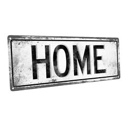 Home Metal Sign; Wall Decor for Home and Office $36.99