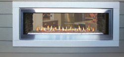 Empire Boulevard Direct-Vent Linear Fireplace 48