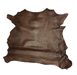 Springfield Leather Co. Rust Grenada Goat Hide Leather 3 5 sqft piece $20.51