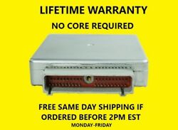 92-95 FORD TRKVAN ECM F3TZ-12A650-ADA LIFETIME WARRANTY NO CORE. $297.00