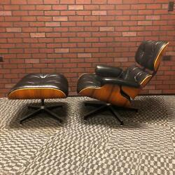 Eames Lounge Chair and Ottoman for Herman Miller Vintage - Black