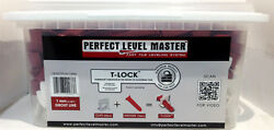 T-Lock ™ PERFECT LEVEL MASTER  Tile Leveling System Wall Floor Spacers MC1-A1