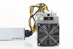 ANTMINER L3+ 504 MHs LITECOIN MINING LTC ASIC Miner USED & Power Supply Bitmain
