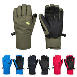 Quiksilver Cross Ski Snowboard Gloves Casual Unisex EQYHN03113 $59.80