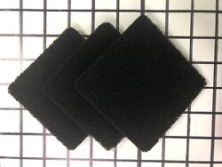 Exaco ECO 2500 Pack of Three Replacement Carbon Filters For Kitchen Compost $9.99