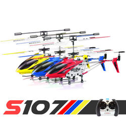 Syma S107G 3.5CH RC Helicopter Phantom Metal Mini Remote Control Helicopter GYRO $23.98